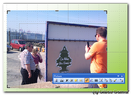 Hide parts of a picture in PowerPoint with the Picture Cropping Tool (Free Tutorial)