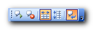 Text-to-speech toolbar. Click Speak on Enter to start Excel text-to-speech.