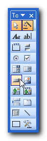 Toolbax toolbar - Make Microsoft Access forms more user-friendly with big navigation controls