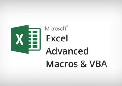 Microsoft Macros & VBA Training Course