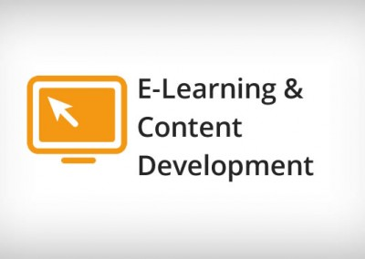 E-Learning Development and Training
