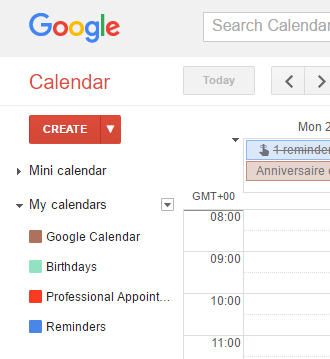 Help! Reminders are missing from Google Calendar!