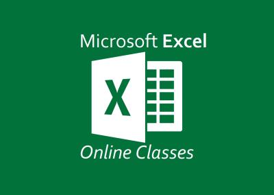 Excel Online Workshops